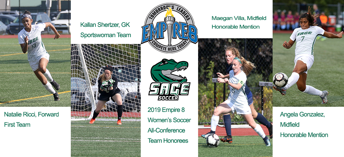 Sage garners four Empire 8 Women's Soccer All-Stars