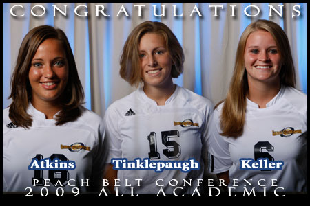 A trio of Lady 'Canes named All-Academic