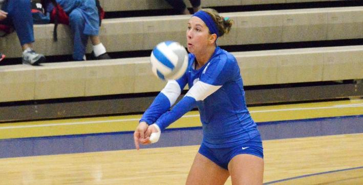 Volleyball swept by Benedictine in road NACC match