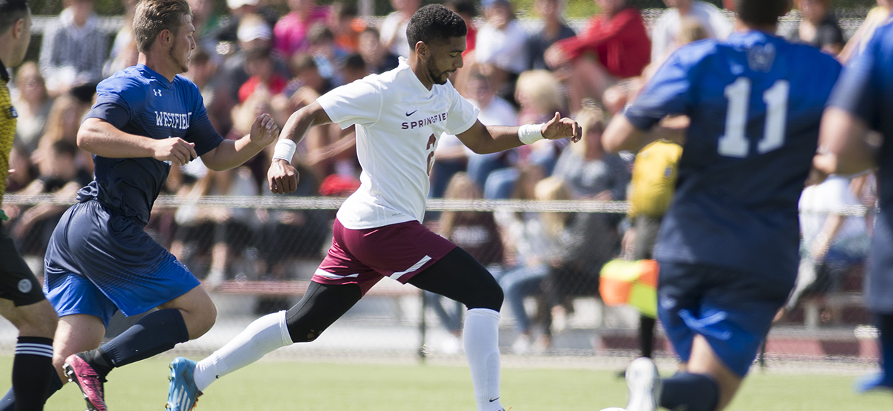 Men's Soccer Strikes Late; Defeats Westfield State, 1-0