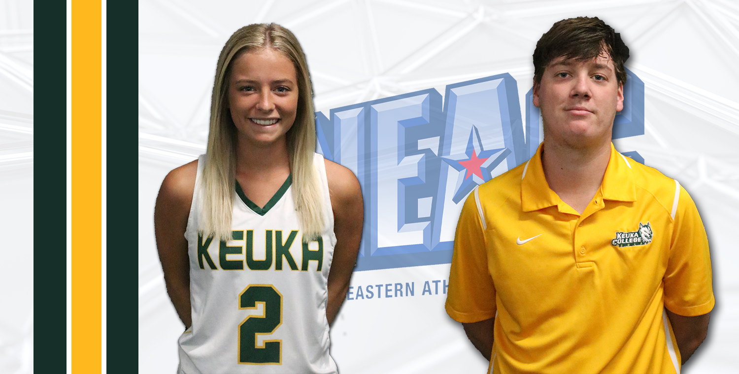 Murrelle and Wilson Named NEAC Players of the Week