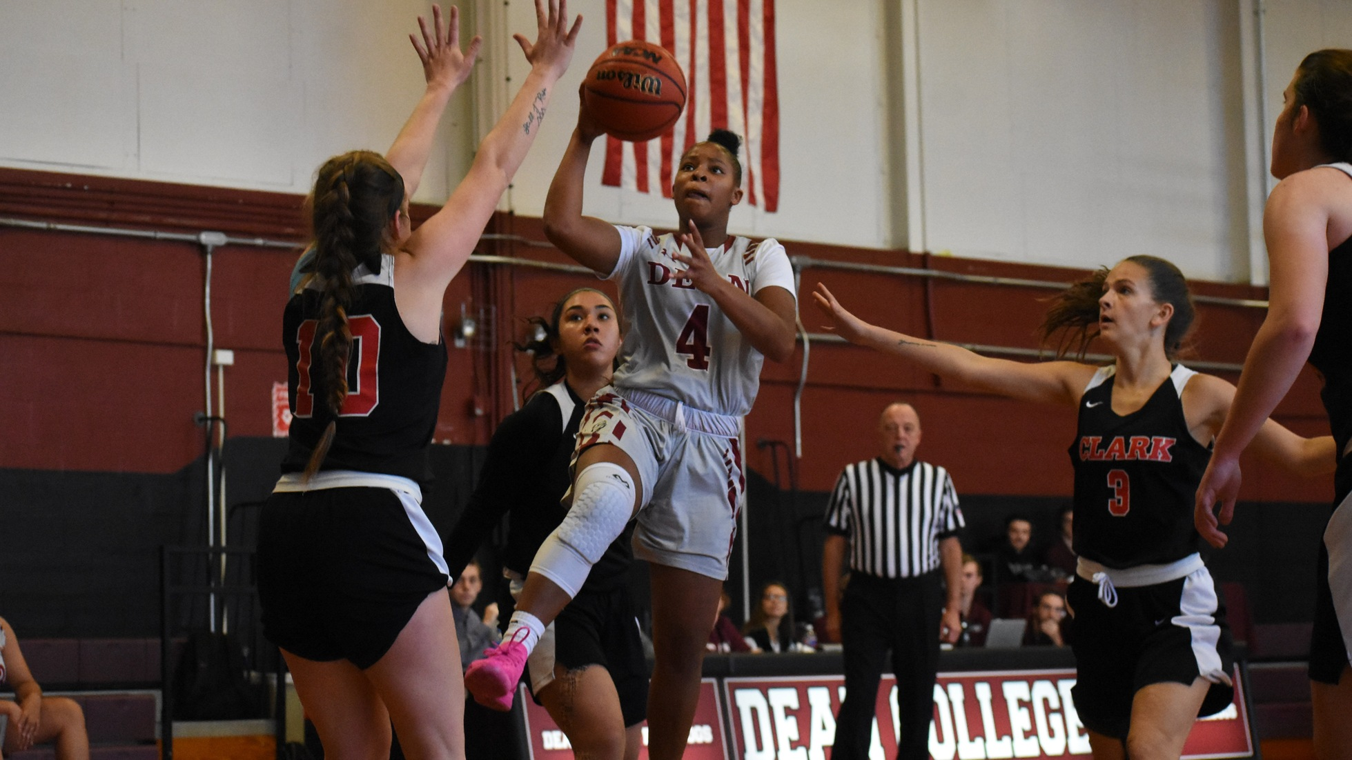 Women's Basketball Powers Past Clark, 75-66