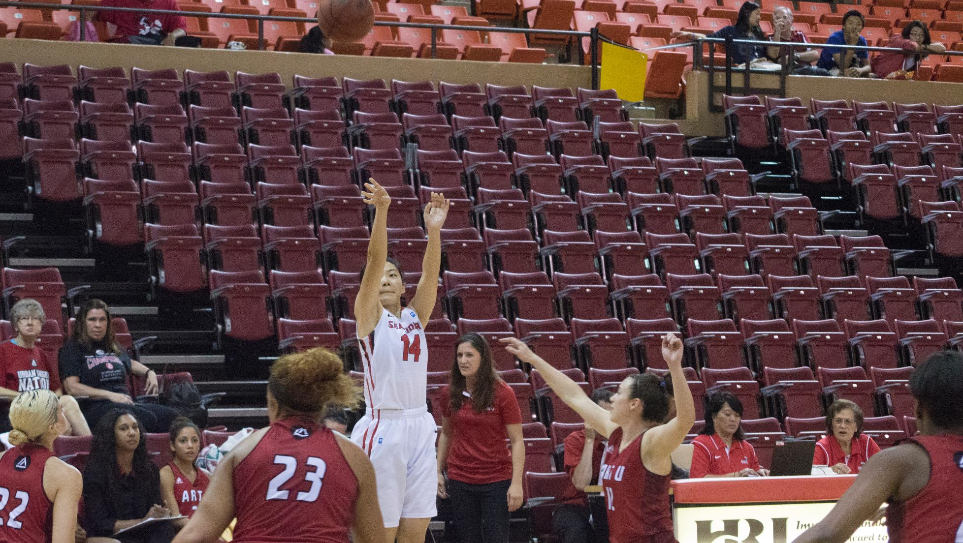 Cui's career high not enough for Seasiders