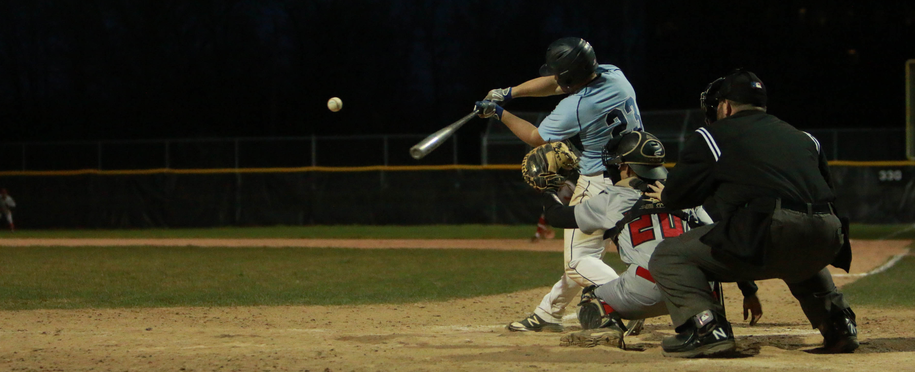 Baseball Splits With Rivier; Earns No. 3 Seed for Postseason Tournament