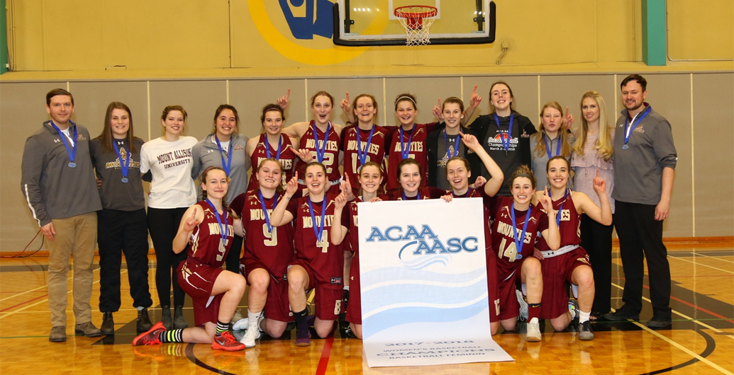 Mounties win 2018 ACAA Women's Basketball Championship in OT thriller!