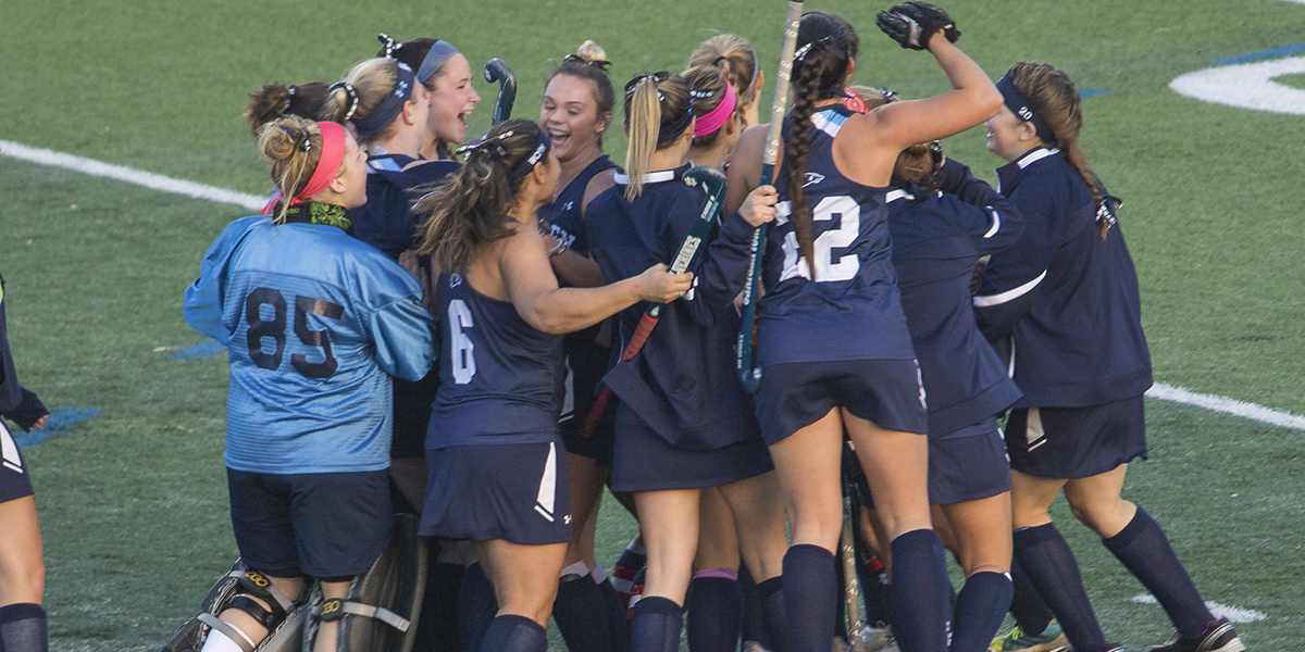 Fry's golden goal puts field hockey in Atlantic East Championship Game