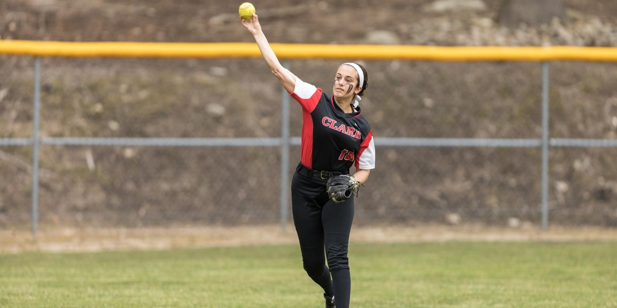 Softball Drops Two to Beavers in NEWMAC Opener