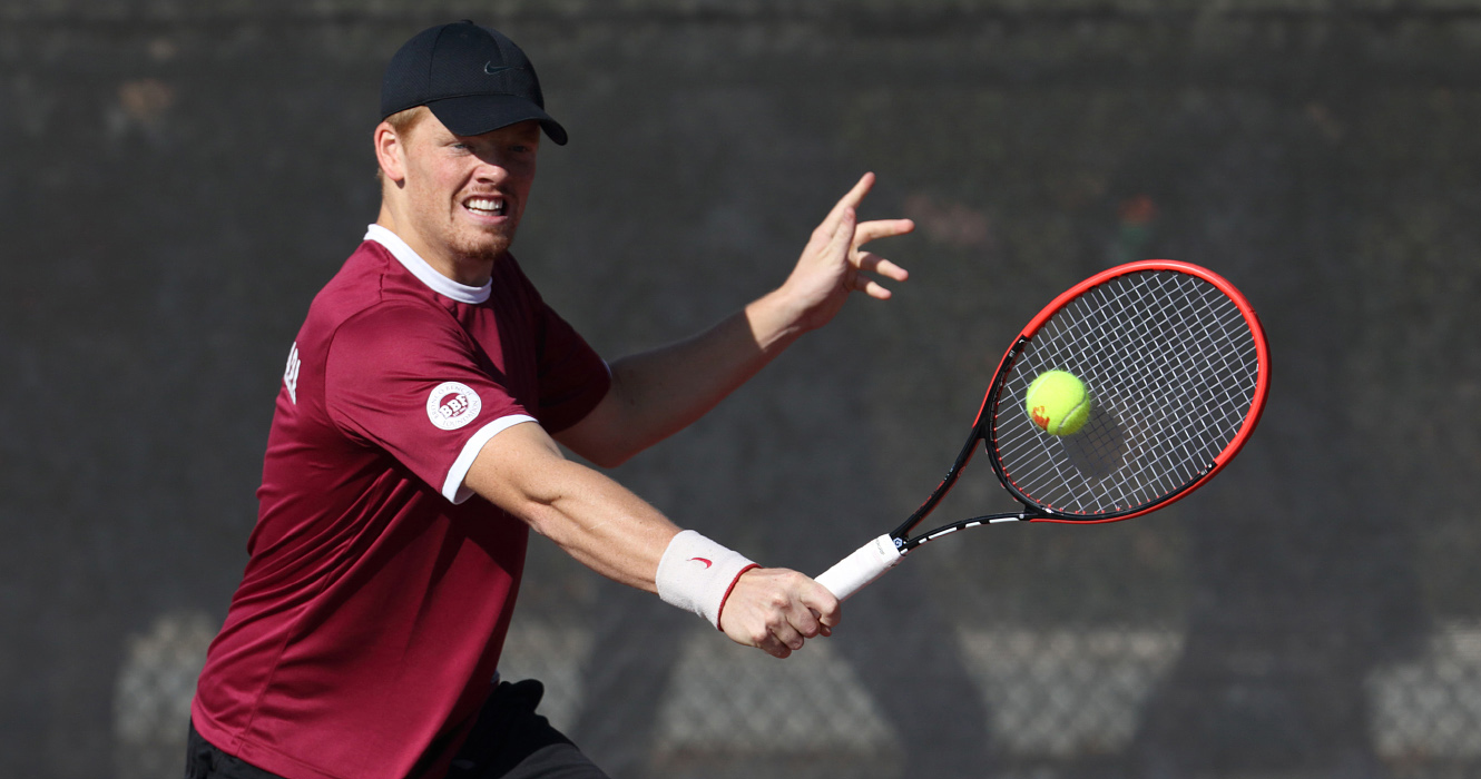 No. 74 Men's Tennis Downs No. 57 San Diego State, 6-1, For Fifth Straight Win