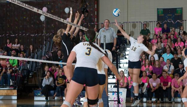 No. 22 Blugolds downed by No. 21 Titans