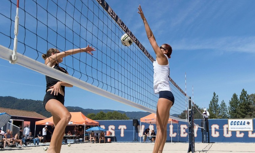 Beach volleyball team knocked out of state championship