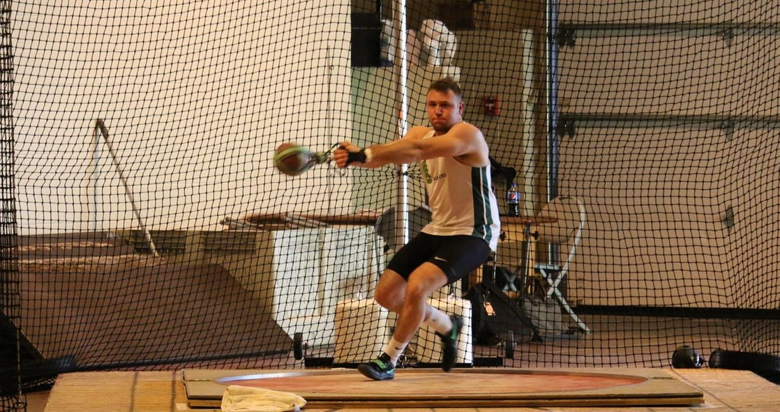 Butts Wins Weight Throw at Last Chance Meet at ONU