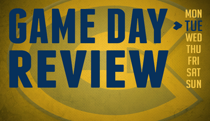 Game Day Review - Tuesday, November 26, 2013
