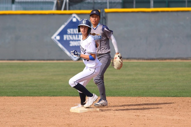 Tena Spoolstra went 3-for-4 in the Falcons loss to El Camino