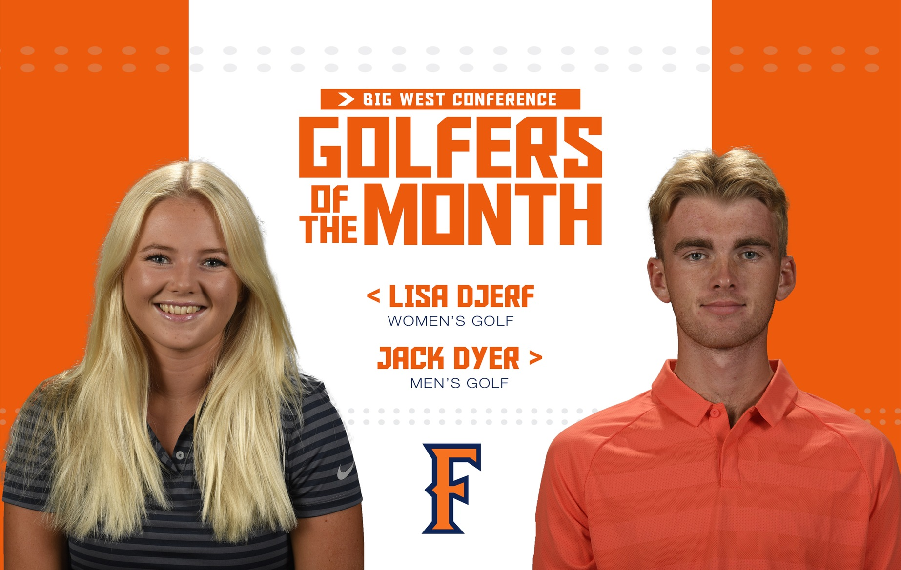 Titans Sweep March Golfer of the Month Accolades
