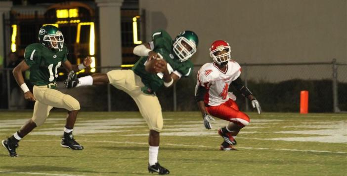 Glynn Academy Football Against Glynn Academy