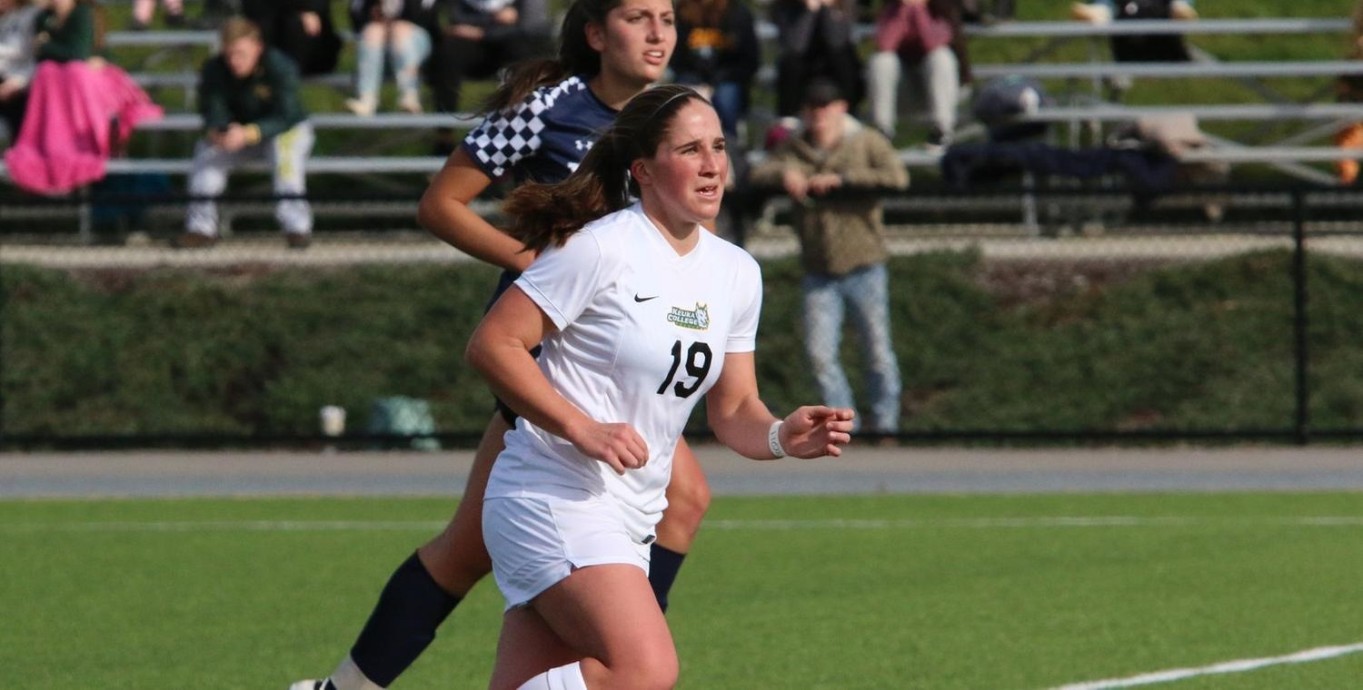 Grace Wolf (19) scored a goal and added an assist for Keuka on Saturday