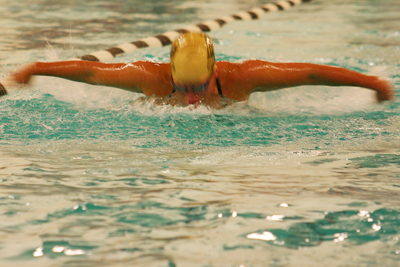 WOMEN'S SWIMMING COMES BACK TO BEAT SACRED HEART, 106-99, AT THE CHACE CENTER FRIDAY AFTERNOON