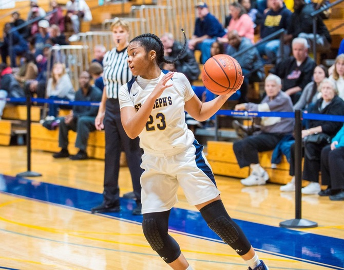 Women's Basketball Comes Up Short to USMMA