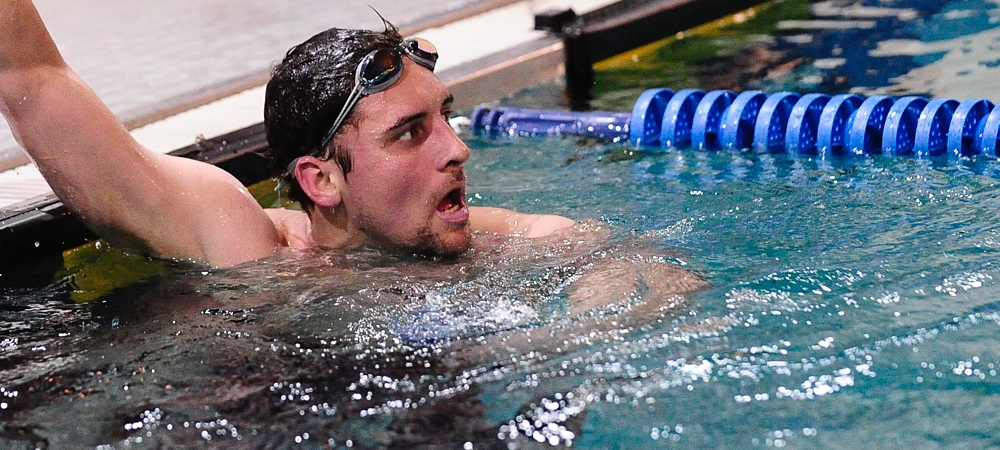 GU defeats defending NEAC champion Wells as Bison split conference double-dual meet