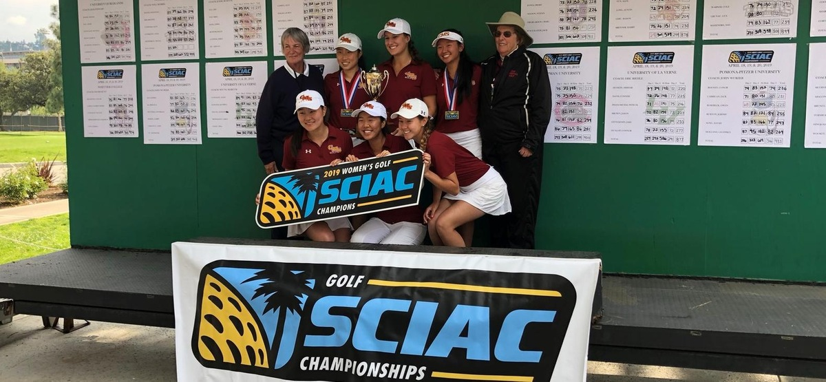 Three Times A Champion! CMS Women's Golf Earns Third Straight SCIAC Title, Amy Xue Takes First Place