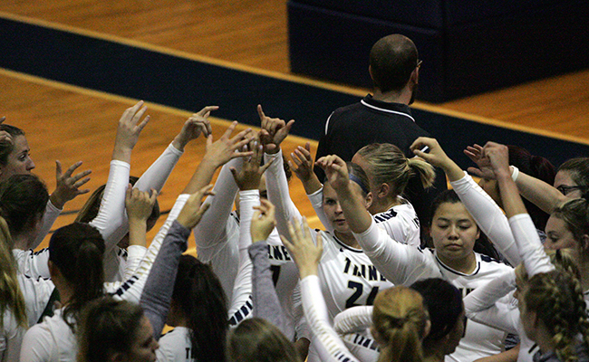 Volleyball Drops Two at Bishop Invitational