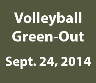 Local Community Invited To Second Annual Volleyball Green-Out