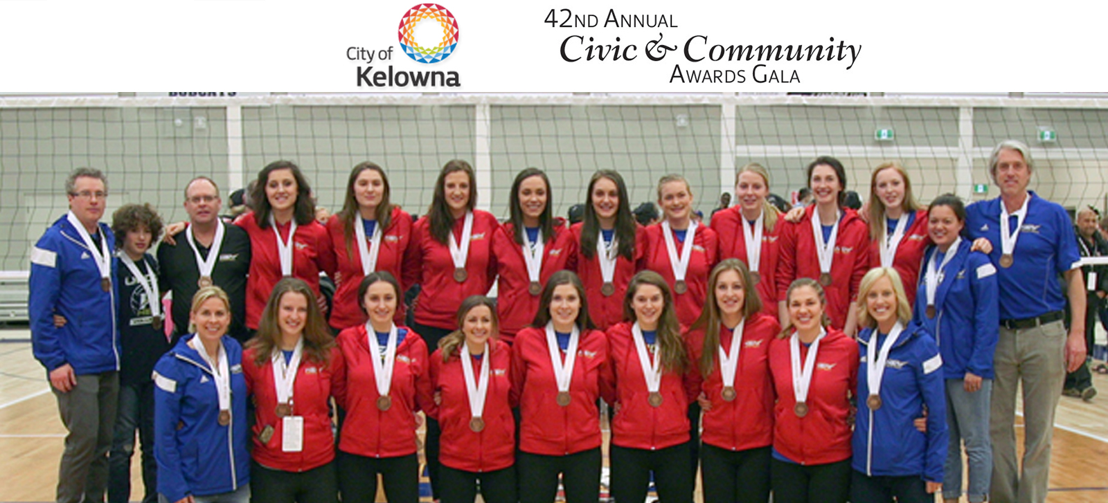 Great night at the city of Kelowna Civic Awards, Heat women's volleyball come up just short