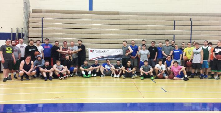 Football raises money for Special Olympics with May Madness Tournament