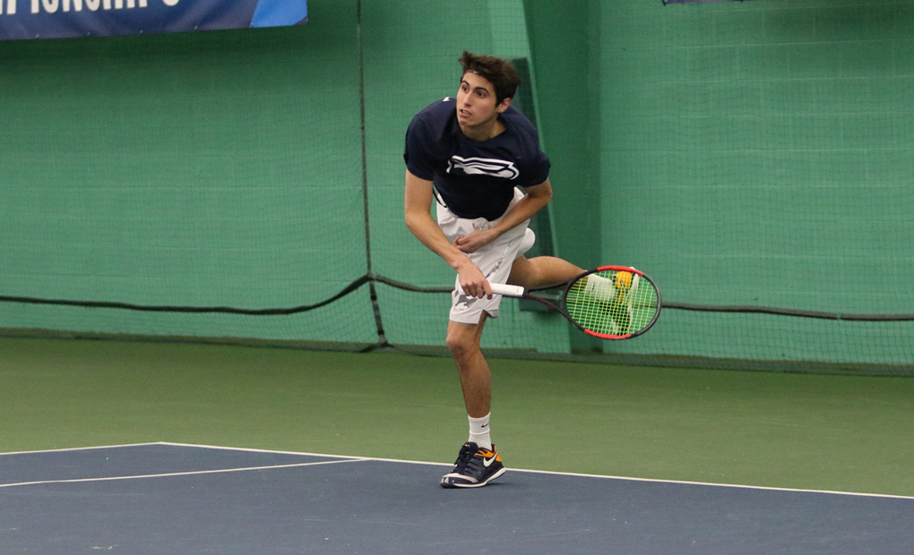 Emory Men's Tennis Upends Johns Hopkins