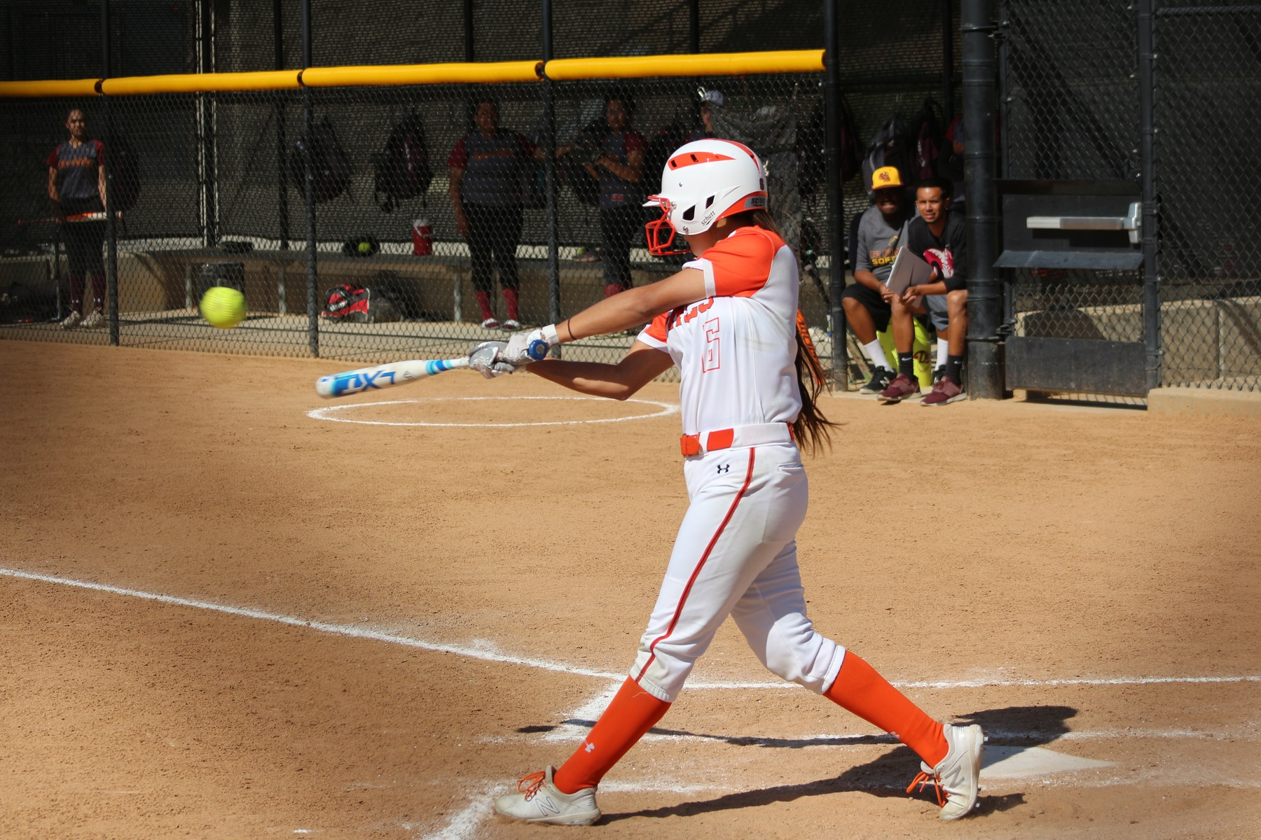 Pasadena Trip Results In Split Day For Softball