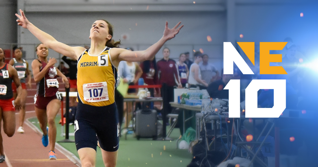 Twice as Nice: Merrimack's Carly Muscaro Repeats as 400m Champion, Wins First-Ever 200m Title at NCAA Championships