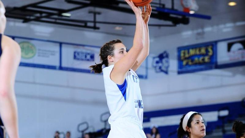 Babe Records Double-Double at SHU