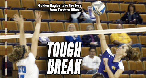The Golden Eagles battle Eastern Illinois to close match