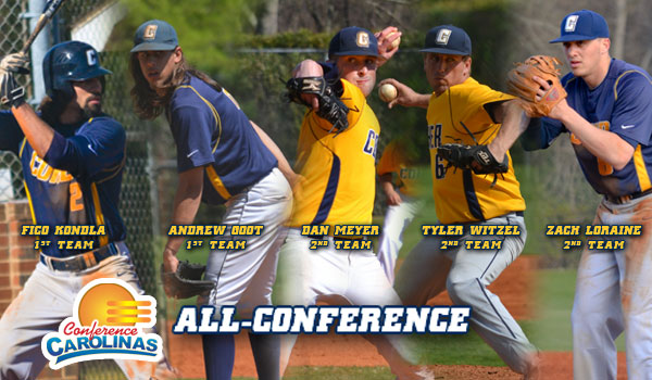 Five Cobras Selected for All-Conference Teams