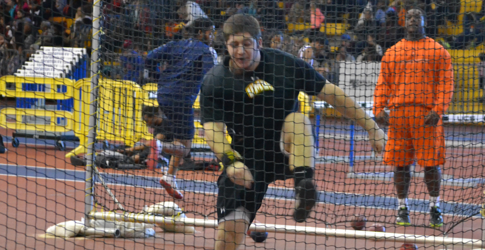 Beeman Breaks Pentathlon Record as UMBC Track and Field Opens Weekend with Competition at Penn State Nationals