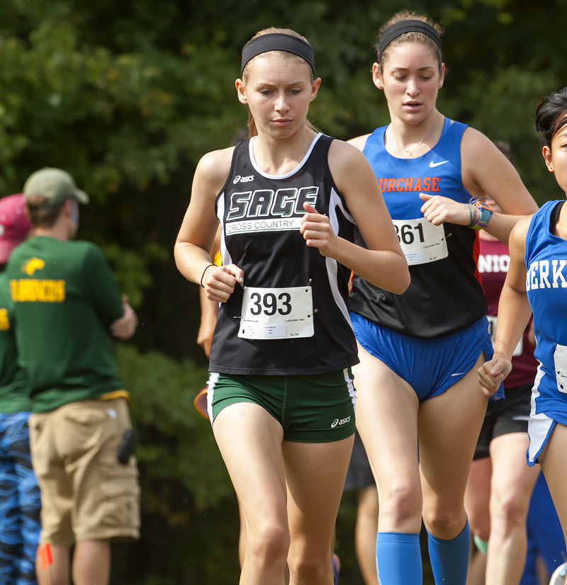 Sage cross country teams open season at SUNY-Polytechnic Short Course Race