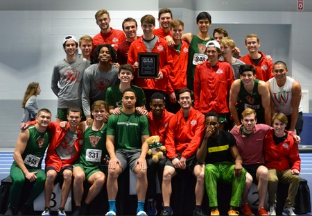 Washington University Men Win UAA Indoor Track & Field Title