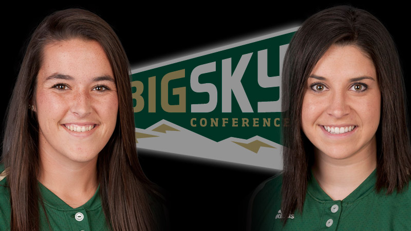 SOFTBALL'S BROOKS AND MARTIN RECEIVE BIG SKY WEEKLY HONORS