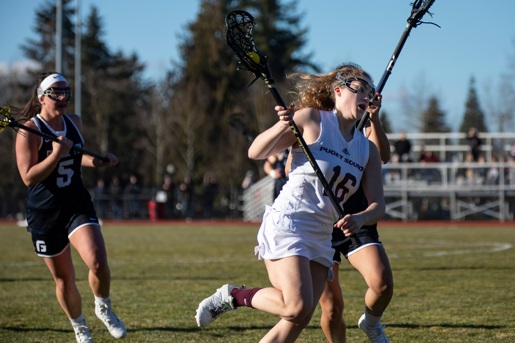 Three Loggers net three goals to beat Johnson & Wales, 15-7