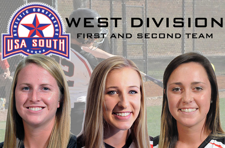 Softball: Panthers place three on USA South All-Conference West Division teams