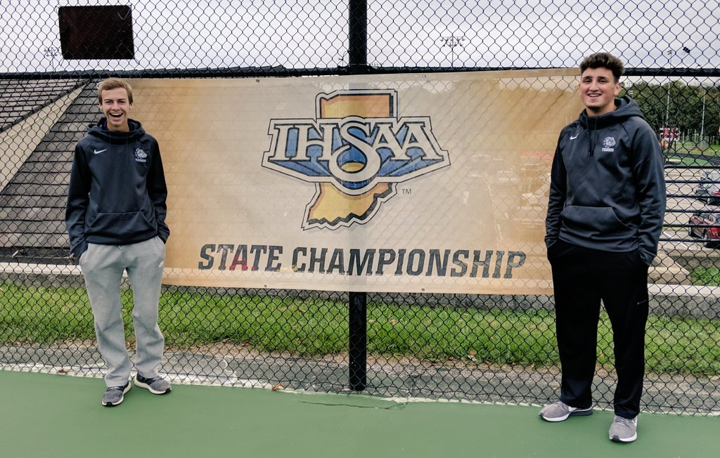 #1 Doubles End Season at State Finals