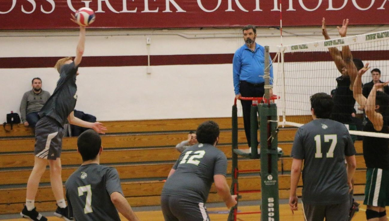 Volleyball Grab First Win of Season, 3-2 over Pine Manor; Swept By Colby-Sawyer, 3-0