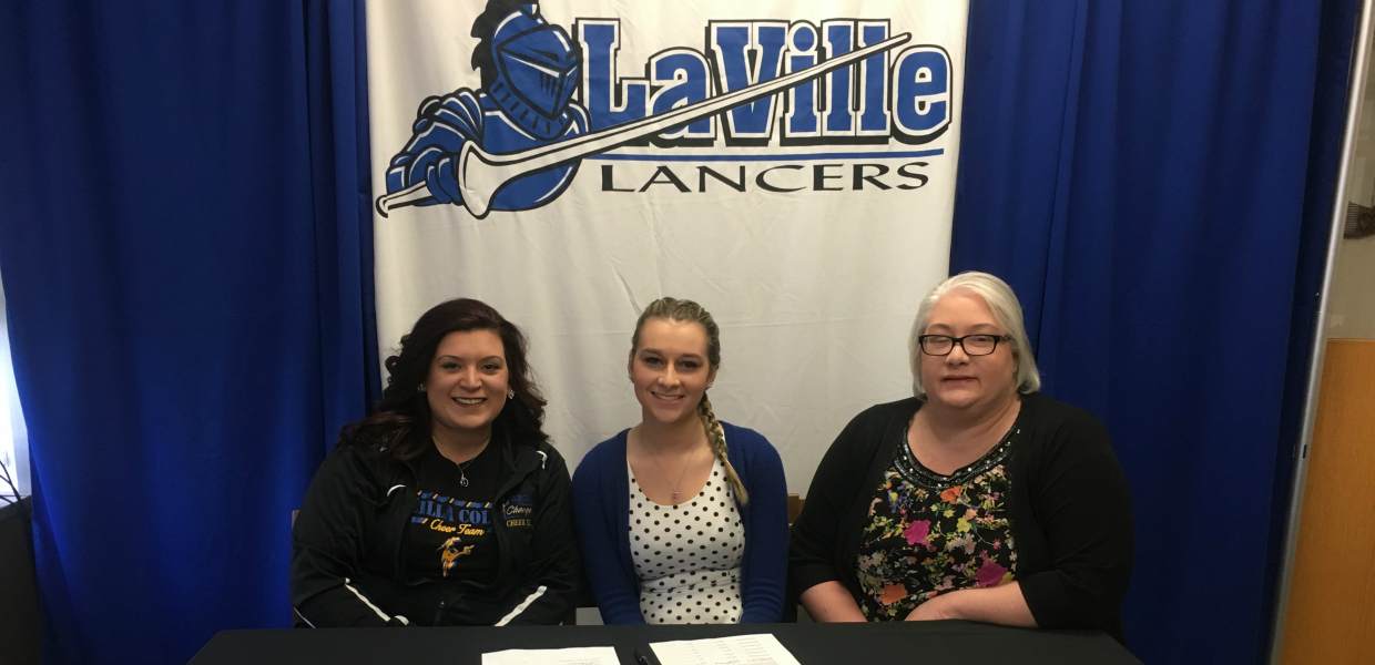 Photo for Stroud First Signee of 2017-18 Year for Ancilla Cheer