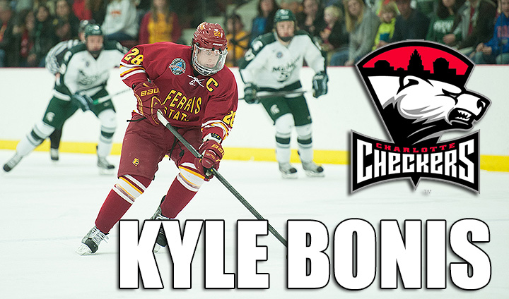 Former Bulldog Captain Kyle Bonis Signs New AHL Two-Way Contract