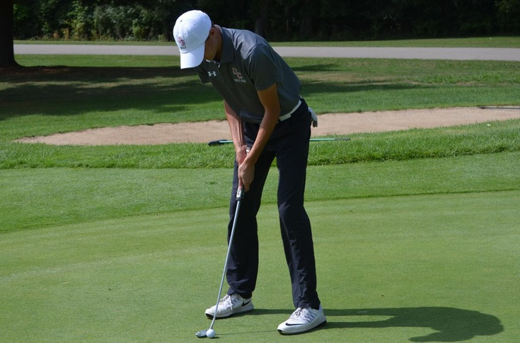 Men's golf team places seventh at MIAA Jamboree #4