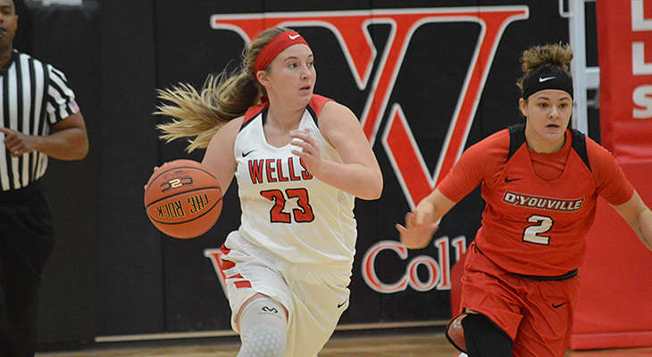 Women's Basketball Edged By D'Youville