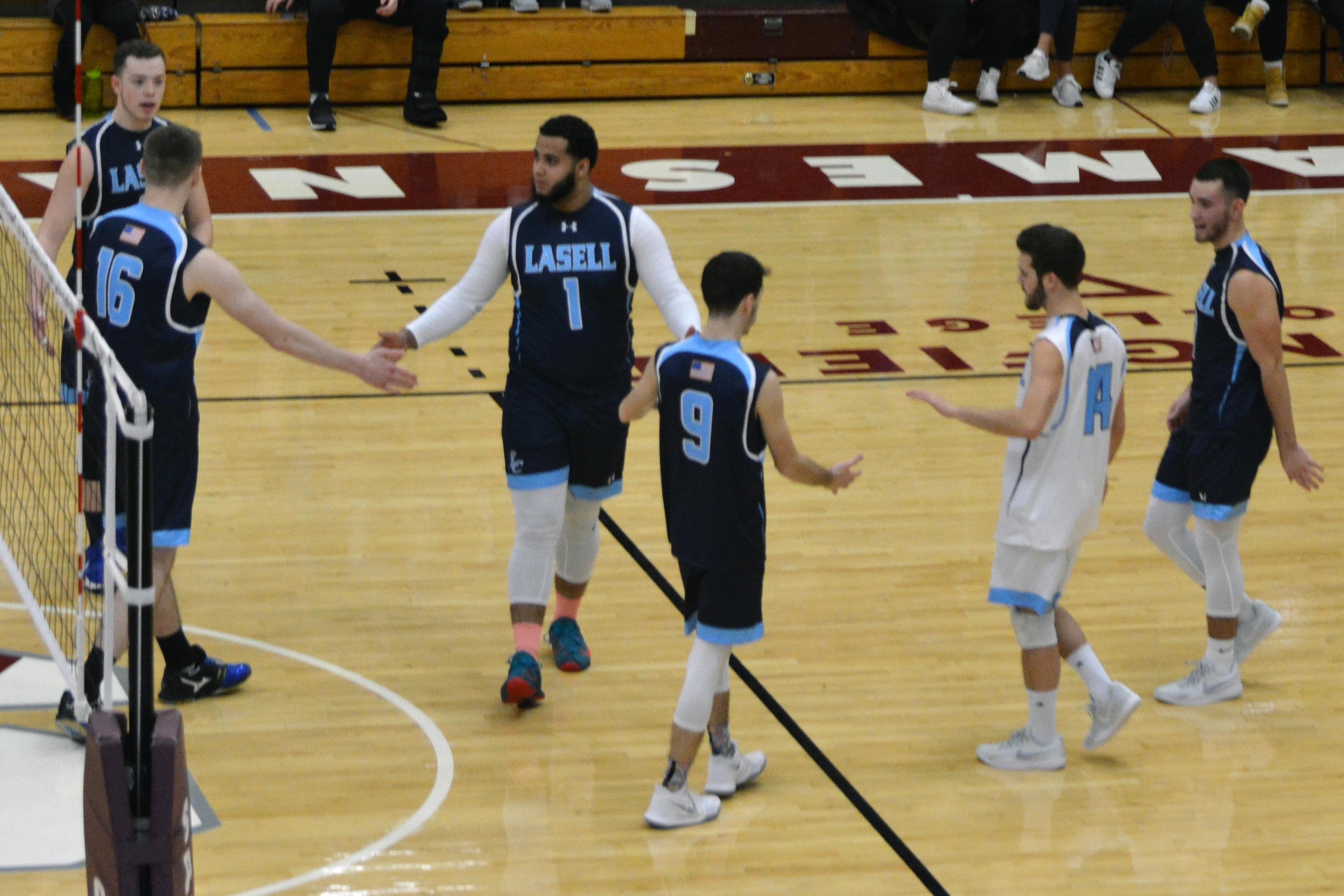 Lasell Men's Volleyball drops two at Nazareth Tournament