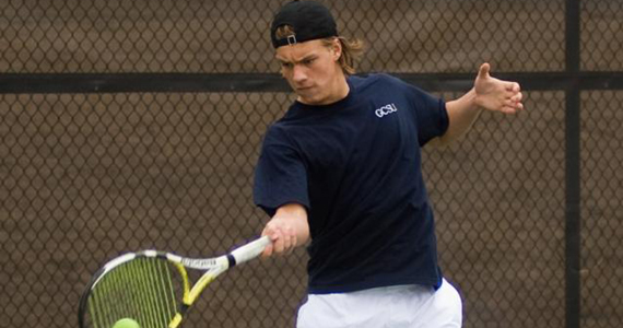 #11 Georgia College Men's Tennis Blanked by #4 Lynn, 5-0
