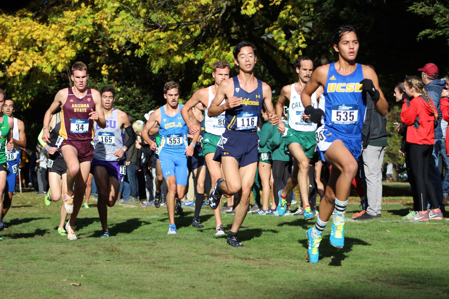 Women 16th, Men 14th at NCAA West Regional Meet
