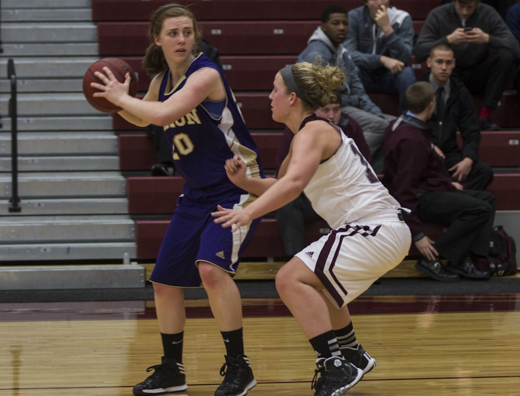 Scots Women's Basketball defeated by Albion College 74-63 on Thursday night